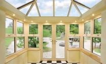interior edwardian conservatory